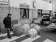 Gravirate. Lombardia. ITALY. General Views Friday Market.  Umbrellas, on displey Italy<br />  <br /> Friday  30/12/2016<br /> <br /> © Peter SPURRIER,<br /> <br /> <br /> LEICA CAMERA AG - LEICA Q (Typ 116) - 1/800 - f1.7