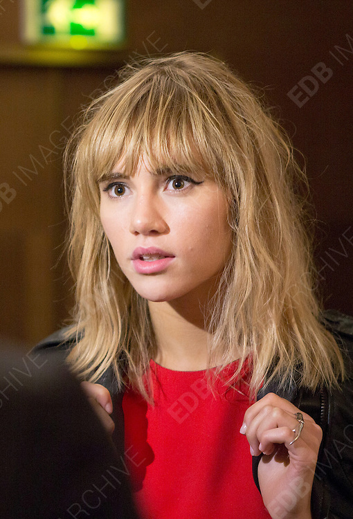 15.SEPTEMBER.2013. LONDON<br /> <br /> SUKI WATERHOUSE ATTENDS THE UK PREMIERE OF 'MADEMOISELLE C' AT THE MAYFAIR HOTEL IN LONDON.<br /> <br /> BYLINE: EDBIMAGEARCHIVE.CO.UK<br /> <br /> *THIS IMAGE IS STRICTLY FOR UK NEWSPAPERS AND MAGAZINES ONLY*<br /> *FOR WORLD WIDE SALES AND WEB USE PLEASE CONTACT EDBIMAGEARCHIVE - 0208 954 5968*