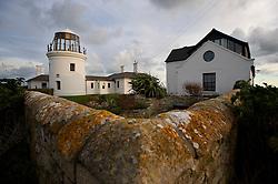 Old Higher Lighthouse, now a holiday let, Portland Bill, Dorset, England, UK.