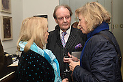 DUCHESS OF ST ALBANS; DUKE OF ST. ALBANS; HON ALEXANDRA FOLEY, New Work: William Foyle, Royal College of art. Kensington Gore, London.  1 December 2015