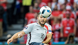19.06.2016, Stade Pierre Mauroy, Lille, FRA, UEFA Euro, Frankreich, Schweiz vs Frankreich, Gruppe A, im Bild Andre Pierre Gignac (FRA) // Andre Pierre Gignac (FRA) during Group A match between Switzerland and France of the UEFA EURO 2016 France at the Stade Pierre Mauroy in Lille, France on 2016/06/19. EXPA Pictures © 2016, PhotoCredit: EXPA/ JFK