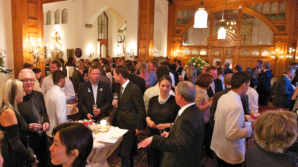 Gala Dinner at Badrutt's Palace Hotel. St Moritz Match Race 2010. World Match Racing Tour. St Moritz, Switzerland. 4th September 2010. Photo: Ian Roman/WMRT.