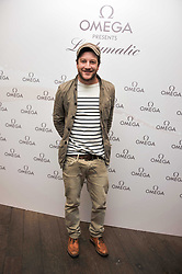 Singer MATT CARDLE Winner of the X-factor 2010 at a pool party to celebrate the UK launch of the Omega Ladymatic Collection held at the Haymarket Hotel, Haymarket, London on 16th June 2011.