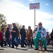 Washington, Oct. 30, 2010 - Rally to Restore Sanity and/or Fear -Bruce Smith, Alexandria, VA