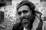 Portrait of a gentlemen in San'a.