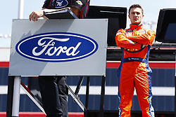 April 13, 2018 - Bristol, Tennessee, United States of America - April 13, 2018 - Bristol, Tennessee, USA: Ty Majeski (60) hangs out on top of his Roush Fenway Racing hauler during opening practice for the Fitzgerald Glider Kits 300 at Bristol Motor Speedway in Bristol, Tennessee. (Credit Image: © Chris Owens Asp Inc/ASP via ZUMA Wire)