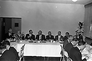 21/03/1963<br /> 03/21/1963<br /> 21 March 1963<br /> Irish National Insurance Company, South Frederick Street, Dublin. The dinner.