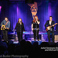 Juliet Simmons Dinallo and Michael Dinallo at The Extended Play Sessions 02-07-20