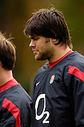 Marlow, GREAT BRITAIN,  London Wasps, Tom PALMER, during the England Rugby Training session,  at Bisham Abbey, ENGLAND. 31/10/2006. [Photo, Peter Spurrier/Intersport-images].....