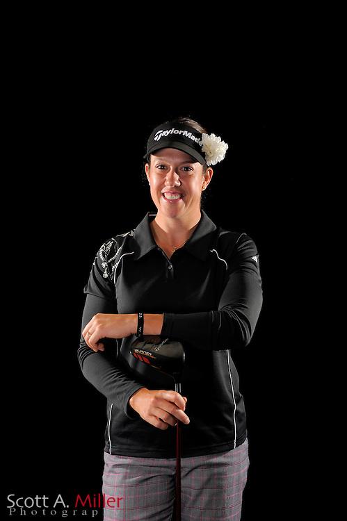 Izzy Beisiegel during a portrait shoot prior to the LPGA Future Tour's Daytona Beach Invitational at LPGA International's Championship Courser on March 28, 2011 in Daytona Beach, Florida... ©2011 Scott A. Miller