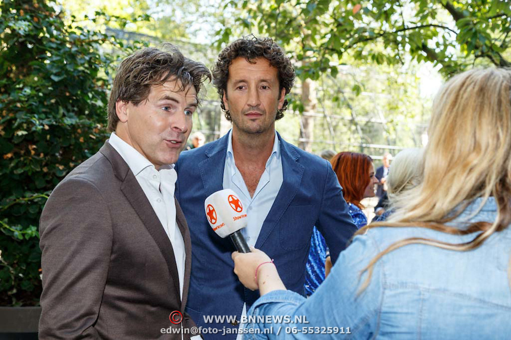 NLD/Amsterdam/20150820 - Najaarspresentatie SBS 2015, Toine van Peperstraten en Jan Joost van Gangelen