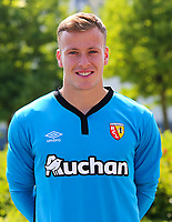 Valentin Delon during photoshooting of RC Lens for new season 2017/2018 on October 5, 2017 in Lens, France<br /> Photo by RC Lens / Icon Sport