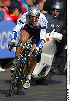 CYCLING - TOUR DE FRANCE 2004 - PROLOGUE LIEGE (BEL) - INDIVIDUAL TIME TRIAL - PHOTO: OLIVIER LABALETTE / DPPI<br />