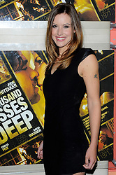 Charlie Webster attends A Thousand Kisses Deep UK film premiere gala screening of Dana Lustig's drama about domestic violence, raising funds for Women's Aid.The film stars Dougray Scott, Jodie Whittaker and Emilia Fox, Tuesday June 12, 2012. Photo By Chris Joseph