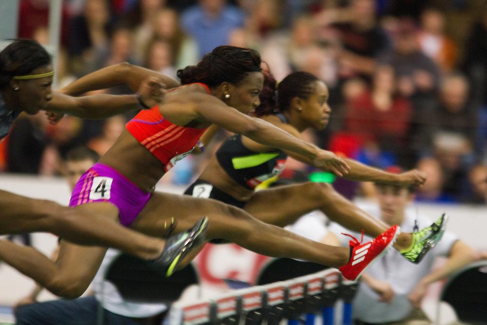 New Balance Indoor Grand Prix track meet: Porter, women's 60 meter hurdles