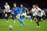 Piotr Zielinski of Napoli in action during the UEFA Champions League, Group E football match between SSC Napoli and KRC Genk on December 10, 2019 at Stadio San Paolo in Naples, Italy - Photo Federico Proietti / ProSportsImages / DPPI