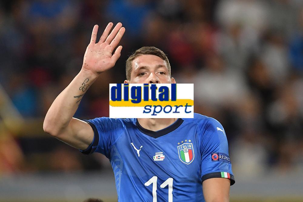 Andrea Belotti Italy.<br /> Bologna 07-09-2018 <br /> Football Calcio Uefa Nations League <br /> Italia - Polonia / Italy - Poland <br /> Foto Andrea Staccioli / Insidefoto