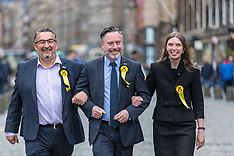 Scottish European Parliamentary Election Results, Edinburgh, 27 May 2019