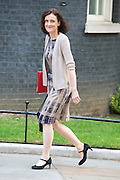 © Licensed to London News Pictures. 08/07/2014. Westminster, UK. Theresa Villiers,Conservative MP, Secretary of State for Northern Ireland,  arriving on Downing Street today 8th July 2014 for the weekly cabinet meeting. Photo credit : Stephen Simpson/LNP