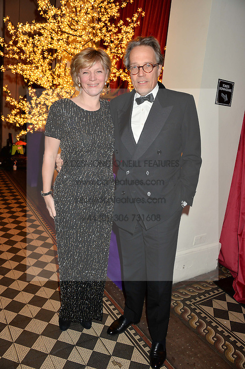 The EARL & COUNTESS OF MARCH & KINRARA at the Sugarplum Dinner - The event was for the launch of Sugarplum Children, a new website and fundraising initiative for children who live with type 1 diabetes, and to raise money for JDRF (Juvenile Diabetes Research Foundation) held at One Mayfair, 13A North Audley Street, London on 20th November 2013.