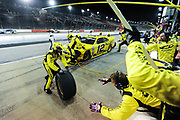 May 10, 2013: NASCAR Nationwide VFW Sport Clips Help a Hero 200,  Sam Hornish, Jr.Alliance Truck Parts   (Roger Penske) , pitstop , Jamey Price / Getty Images 2013 (NOT AVAILABLE FOR EDITORIAL OR COMMERCIAL USE