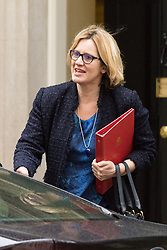 Downing Street, London, February 2nd 2016. Secretary of State for Energy and Climate Change Amber Rudd arrives at No 10 prior to attending the weekly Cabinet meeting. ///FOR LICENCING CONTACT: paul@pauldaveycreative.co.uk TEL:+44 (0) 7966 016 296 or +44 (0) 20 8969 6875. ©2015 Paul R Davey. All rights reserved.