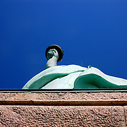 Liberty Island, New York.