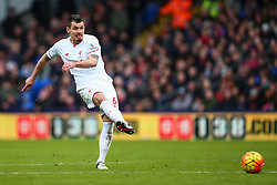 Dejan Lovren of Liverpool in action - Mandatory byline: Jason Brown/JMP - 07966386802 - 06/03/2016 - FOOTBALL - London - Selhurst Park - Crystal Palace v Liverpool - Barclays Premier League