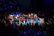 A general view during the IBF World Featherweight Championship between Josh Warrington and Kid Galahad at First Direct Arena, Leeds, United Kingdom on 15 June 2019.