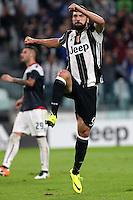 Torino, 21.09.2016 - Serie A 5a giornata - Juventus-Cagliari - Nella foto: Gonzalo Higuain esulta dopo il gol