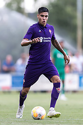 Kevin Diks of ACF Fiorentina during the Pre-season Friendly match between Heracles Almelo and Fiorentina at Sportpark Wiesel  on August 01, 2018 in Wenum-Wiesel , The Netherlands