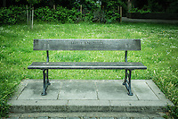 Memorial Bench In Commemoration Of Theo Knowles - London, England, 2016