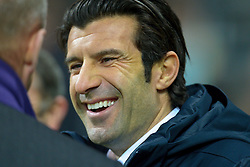 07.12.2010, Weser Stadion, Bremen, GER, UEFA CL Gruppe A, Werder Bremen (GER) vs Inter Mailand (ITA), im Bild Louis Figo ( ehemaliger port. Nationalspieler und Spieler von Real Madrid ). EXPA Pictures © 2010, PhotoCredit: EXPA/ nph/  Kokenge       ****** out ouf GER ******