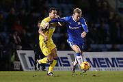 Gillingham FC midfielder Josh Wright (44) during the EFL Sky Bet League 1 match between Gillingham and AFC Wimbledon at the MEMS Priestfield Stadium, Gillingham, England on 21 February 2017.