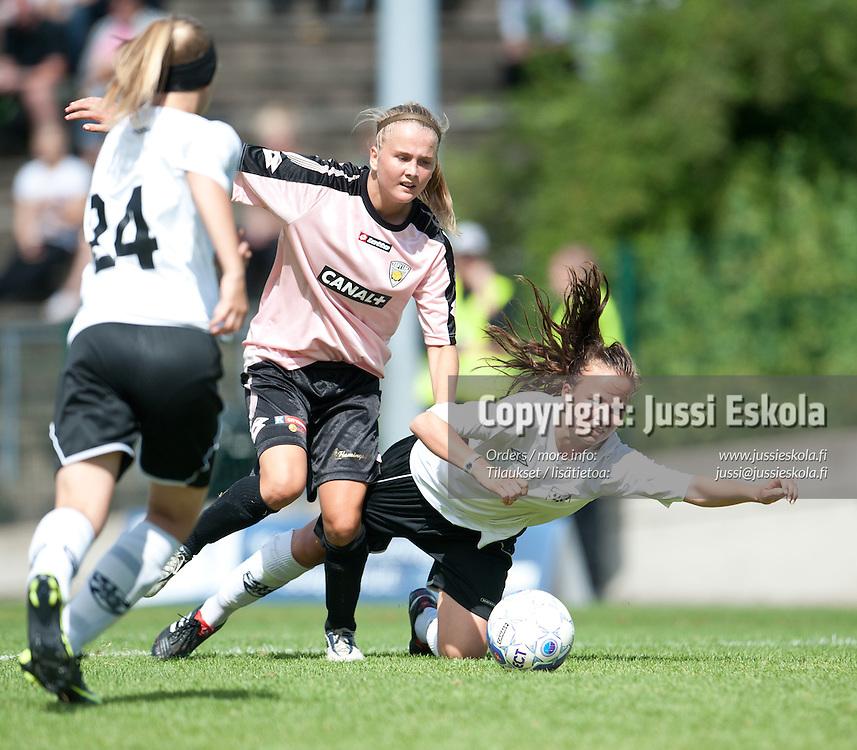 G14. KäPa/United - VJS/Fighters. Helsinki Cup. Loppuottelut. 16.7.2011. Töölön Pallokenttä. Photo: Jussi Eskola