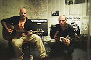 Recording session Organised by Mick Jones to record an anthem to free Ronnie Biggs from jail