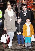 LONDON - NOVEMBER 22: Jade Ellis attended the opening night of 'Hyde Park Winter Wonderland' in Hyde Park, London, UK. November 22, 2012. (Photo by Richard Goldschmidt)