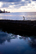 Ninety miles from Florida, El Malecon waterway was constructed in Havana, Cuba by the U.S. in 1901, and remains a reminder of another world.