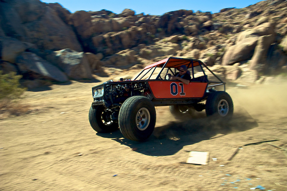 Formula Toyota pays homage to The Dukes of Hazard while getting it in Southern California.
