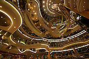 Aboard the Rhapsody of the Seas, on a cruise from Vancouver to Hawaii. 70's Disco Inferno at the Centrum.