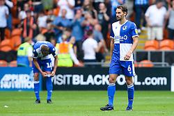 Edward Upson of Bristol Rovers cuts a dejected figure - Mandatory by-line: Robbie Stephenson/JMP - 03/08/2019 - FOOTBALL - Bloomfield Road - Blackpool, England - Blackpool v Bristol Rovers - Sky Bet League One