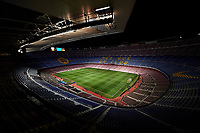 BARCELONA, SPAIN - JANUARY 11:  General view inside the stadium prior to the the Copa del Rey, Round of 16, second Leg match between Barcelona and Celta de Vigo at Camp Nou on January 11, 2018 in Barcelona, Spain.  (Photo by fotopress/Getty Images)