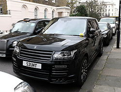 EXCLUSIVE: Billionaire James Stunt gets four parking tickets on as many cars after angering neighbours by 'leaving his vehicles running and taking up six spaces instead of two' outside his £14million home. 23 Feb 2018 Pictured: James Stunt. Photo credit: W8Media / MEGA TheMegaAgency.com +1 888 505 6342