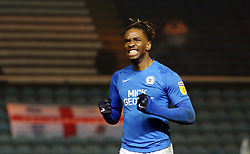 Ivan Toney of Peterborough United celebrates scoring his first goal - Mandatory by-line: Joe Dent/JMP - 21/01/2020 - FOOTBALL - Weston Homes Stadium - Peterborough, England - Peterborough United v Wycombe Wanderers - Sky Bet League One