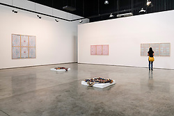Gallery Isabelle Van Eynde gallery in warehouse in Alserkal Avenue arts district in Al Quoz in Dubai United Arab Emirates