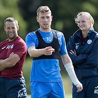 St Johnstone Training….09.09.16<br />David Wotherspoon pictured during training this morning at McDiarmid Park ahead of tomorrow's game at Partick Thistle.<br />Picture by Graeme Hart.<br />Copyright Perthshire Picture Agency<br />Tel: 01738 623350  Mobile: 07990 594431