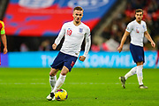 England midfielder James Maddison on the ball during the UEFA European 2020 Qualifier match between England and Montenegro at Wembley Stadium, London, England on 14 November 2019.