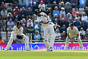 Ishant Sharma of India attacks during day two of the fourth SpecSavers International Test Match 2018 match between England and India at the Ageas Bowl, Southampton, United Kingdom on 31 August 2018.