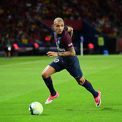 Layvin Kurzawa of PSG during the Ligue 1 match between Paris Saint Germain and Toulouse at Parc des Princes on August 20, 2017 in Paris, . (Photo by Dave Winter/Icon Sport)