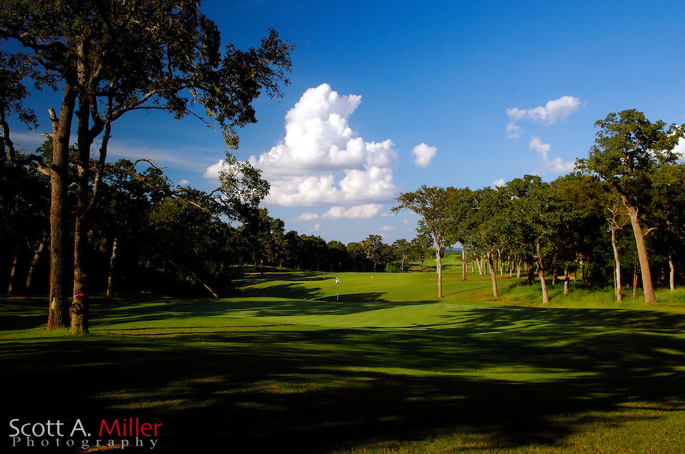 September 8, 2007, Lost Pines, Texas; Hole No. 5 from behind at Wolfdancer Golf Club......©2007 Scott A. Miller